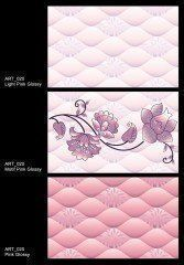 Artistico Inkjet Wall Tiles (ART-020) Pink Color
