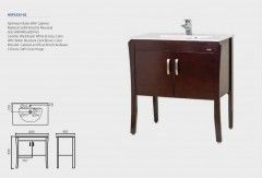 Bathroom Basin HDFL035-02 with cabinet (ORCHID)