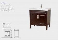 Bathroom Basin HDFL6131A-04 with cabinet (CLASSIC)