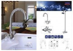 Fancy Silver Series - The Complete Sanitary Fitting Set