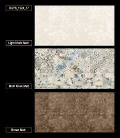 Modish Collection Ceramics Tiles (M-003) Brown Color