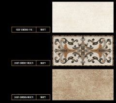Ceramics Tiles of Beige Color with attractive Motif
