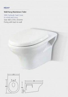 HD247 Wall Hang Toilet